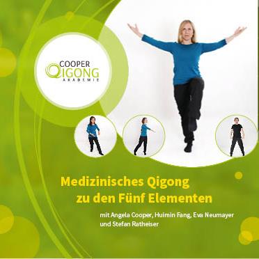 Cover: Medizinisches Qigong zu den Fünf Elementen