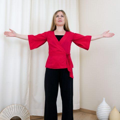 Qigong gegen Burnout: Einstiegs-Übung (Teil 2) nach Angela Cooper