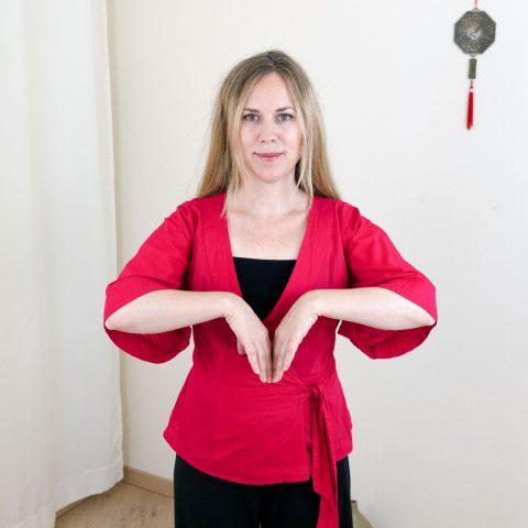 Qigong gegen Burnout nach Angela Cooper: Übung (Teil 3) für Phase 4