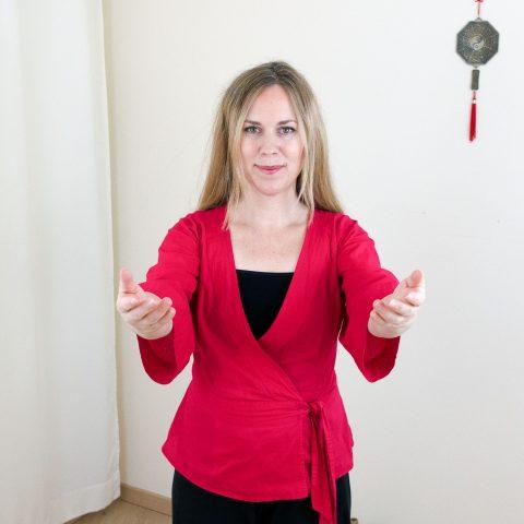 Qigong gegen Burnout nach Angela Cooper: Übung (Teil 4) für Phase 4
