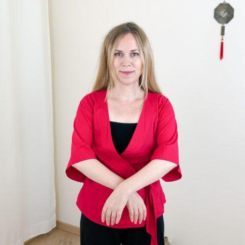 Qigong gegen Burnout nach Angela Cooper: Übung (Teil 1) für Phase 6