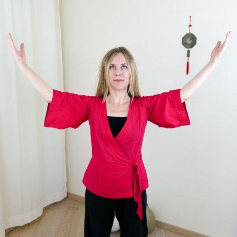 Qigong gegen Burnout nach Angela Cooper: Übung (Teil 2) für Phase 6