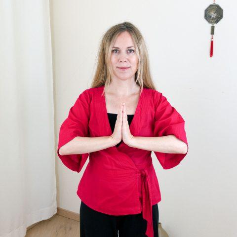 Qigong gegen Burnout nach Angela Cooper: Übung (Teil 3) für Phase 6