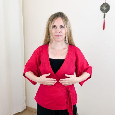 Qigong gegen Burnout nach Angela Cooper: Übung (Teil 1) für Phase 3