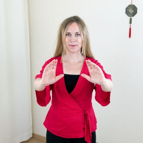 Qigong gegen Burnout nach Angela Cooper: Übung (Teil 2) für Phase 3