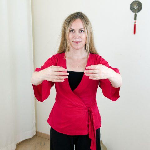 Qigong gegen Burnout nach Angela Cooper: Übung (Teil 2) für Phase 2