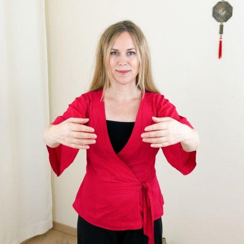 Qigong gegen Burnout nach Angela Cooper: Übung (Teil 2) für Phase 5