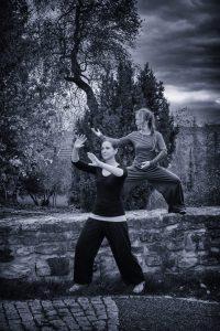 Claudia Sonnefeld und Angela Cooper